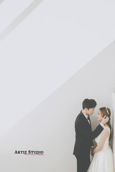 婚紗造型,台北婚紗,婚紗照,韓國,韓風,韓國藝匠,台北婚紗推薦