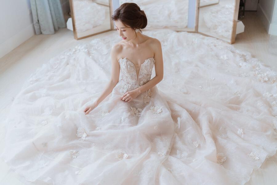 婚紗,禮服,訂製婚紗,新娘禮服,訂製禮服,高訂婚紗,高訂禮服,台北婚紗推薦,台北婚紗,JasmineGalleriaTaipei
